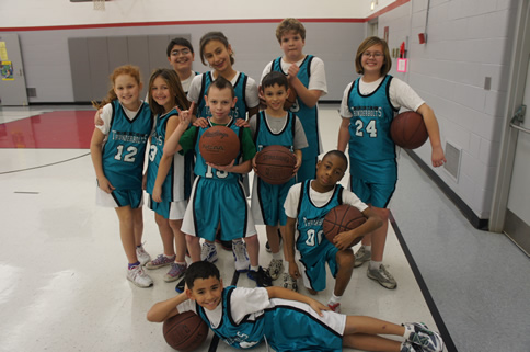 Montessori Basketball Team